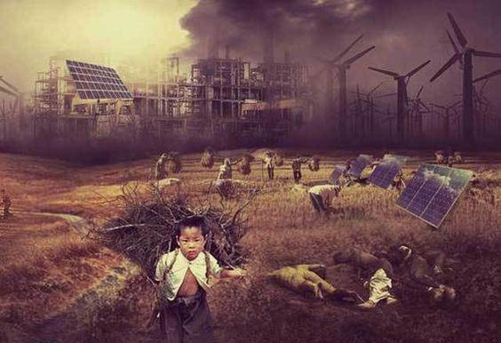 Massenarmut – Millionen Tote – Niedergang der Kulturen. Die Reduzierung von CO2…