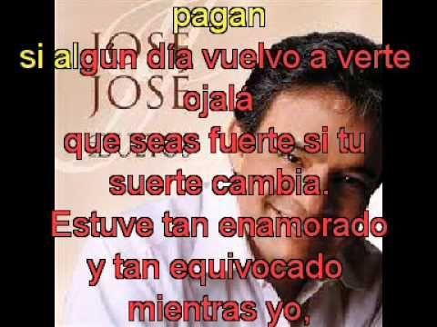 Jose Jose Insaciable Amante 1980 Con Letra Youtube Bmg Music Songs Youtube