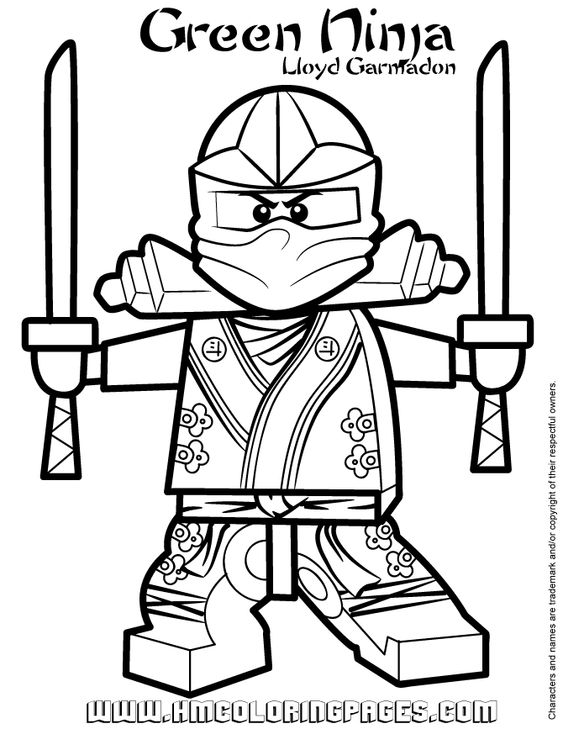 24 Best Ninjago Coloring Images On Pinterest