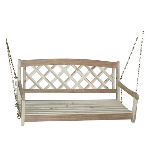 International Concepts X-Back Porch Swing