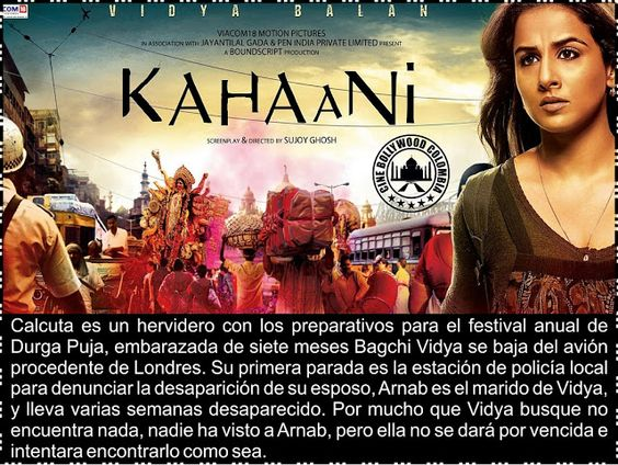 Cine Bollywood Colombia: KAHAANI