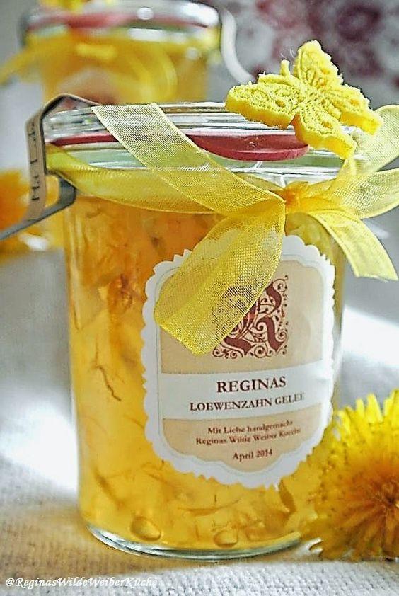 Reginas Wilde Weiber Küche: Frühlingssonne am Brot! Löwenzahn- Schlüsselblumen-Blüten Gelee