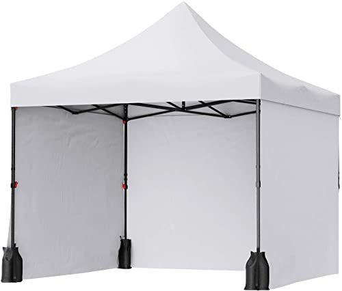 Great For Songmics Pop Up Canopy Tent 10 X 10 Feet Anti Uv Canopy Waterproof Stable Commercial Instant Shelter With In 2020 Pop Up Canopy Tent Canopy Tent Side Wall