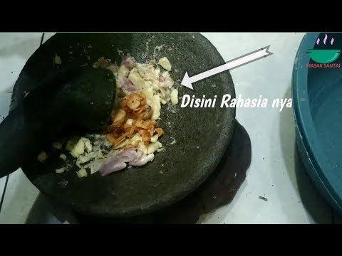 Resep Bumbu Kuah Bakso Seger Mantap Youtube Makanan Resep Masakan Asia Bakso