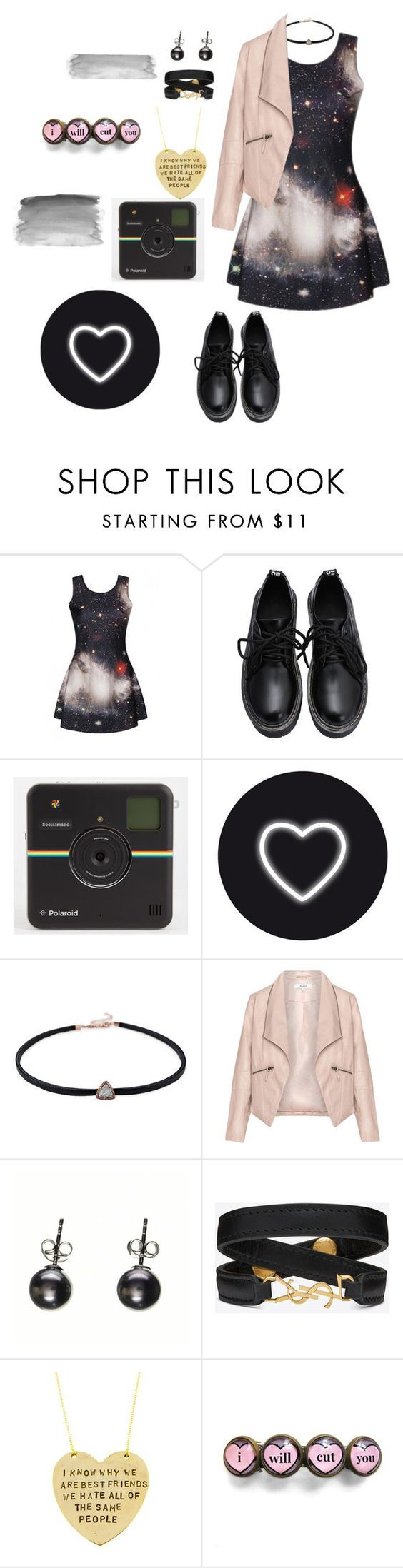 """""""We've made it this far...kid."""" by rocker-chick-88 ❤ liked on Polyvore featuring Zizzi, Yves Saint Laurent, Alisa Michelle, women's clothing, women, female, woman, misses and juniors"""