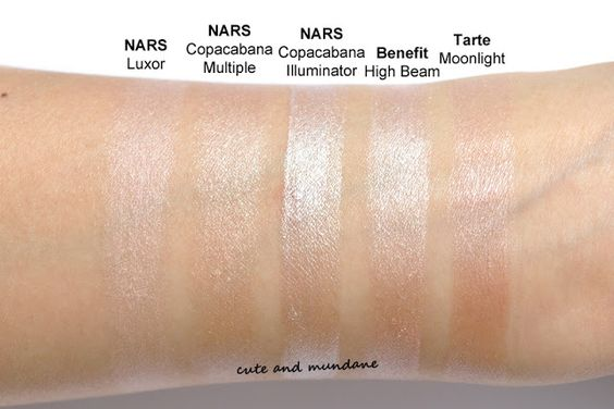 Love NARS highlighters  The secret to dewy skin