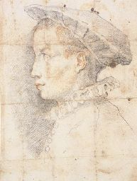 Federico Zuccaro (c. 1540-1609), Portrait of a young boy wearing a hat, sold at Christie's, New York, 2002