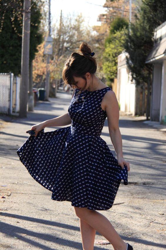 Robe Ruby Dress - Simple Sew