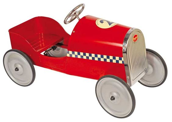 red pedal car • for erdem