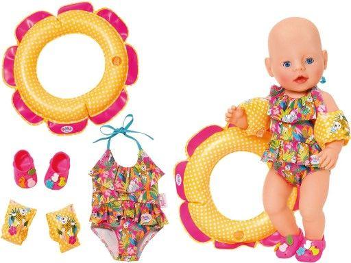 Baby Born Ubranko Na Basen Kostium Akcesoria 9075960433 Oficjalne Archiwum Allegro Baby Born Baby Allegro