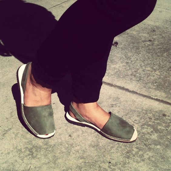 Jigsaw Abarca Sandals on Sunset Blvd!