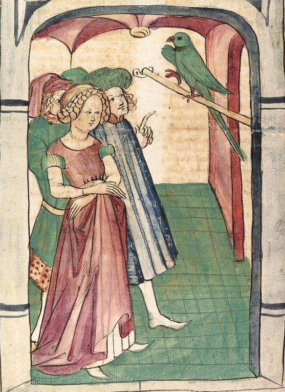 Konrad von Megenberg Das Buch der Natur — Hagenau - Werkstatt Diebold Lauber, um 1442-1448? Cod. Pal. germ. 300 Folio 161v