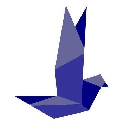 Patchwork Paper Piecing Block - Origami Vogel 3 bei Makerist