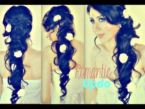 Groovy Romantic Updo Curls For Long Hair And Long Hair On Pinterest Short Hairstyles Gunalazisus