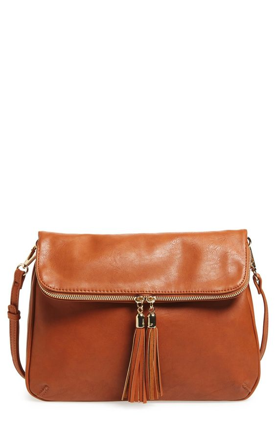 BP. Foldover Crossbody Bag available at #Nordstrom