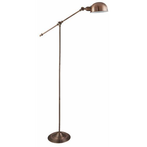 160cm Reading Floor Lamp House Additions Finish Antique Copper In