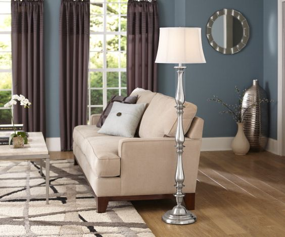 Color coordinate your room from allen + roth area rugs to curtains!