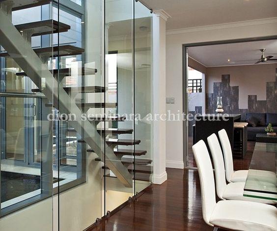 Staircase in Ascot, Brisbane - Interior Design by Dion Seminara Architecture