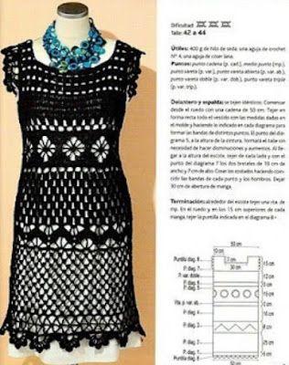 DE MIS MANOS TEJIDOS Y MAS...: Vestidos a crochet