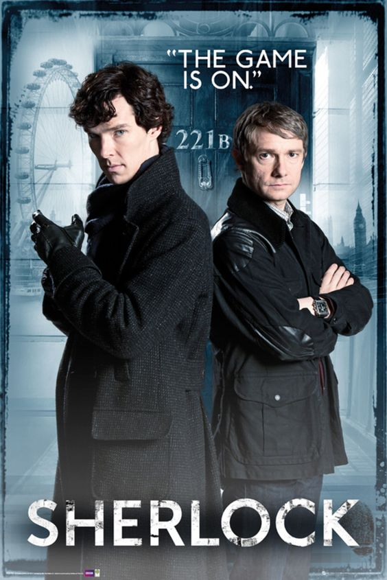 Sherlock Sherlock Holmes Door - Official Poster | Products ...