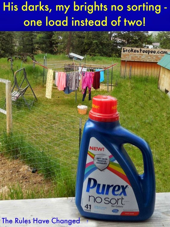 Thanks to New Purex® No Sort™ You Can Stop Sorting Laundry! All Hail #LaundrySimplified #shop