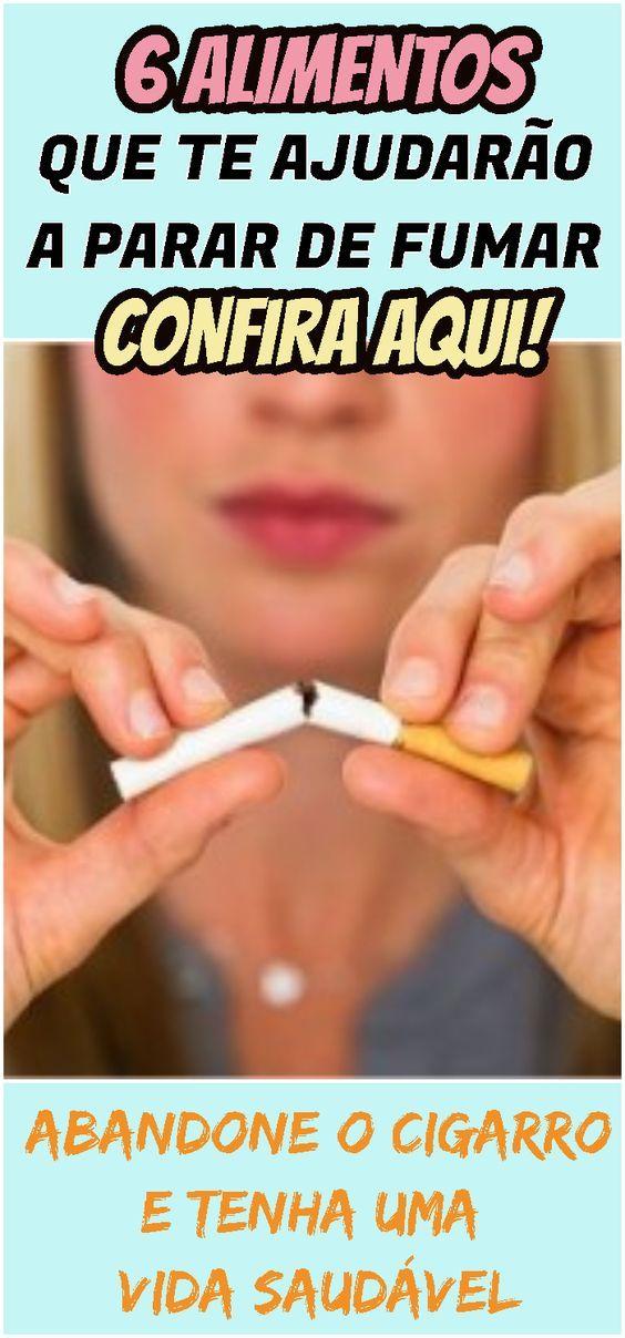 Pensando Em Parar De Fumar Conheca Os 6 Alimentos Que Ajudam Voce