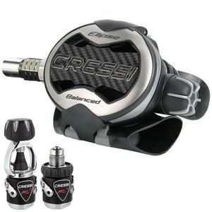 Cressi-Sub MC9 Ellipse SC Regulator | This product and more at http://www.watersportswarehouse.co.uk/shop/scuba-diving-equipment.html