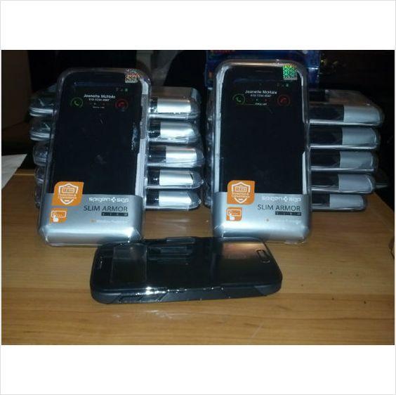 Spigen gloss black s view case for Samsung Galaxy s4i9500 on eBid United States