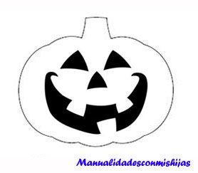Calabaza de foami para halloween molde mcmh moldes - Calabazas para halloween manualidades ...
