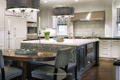 Kitchen Cute Houzz Discussions Design Dilemma Before After Polls Pro To Pr Kitchen Island With Bench Seating Kitchen Island Bench Kitchen Island With Seating