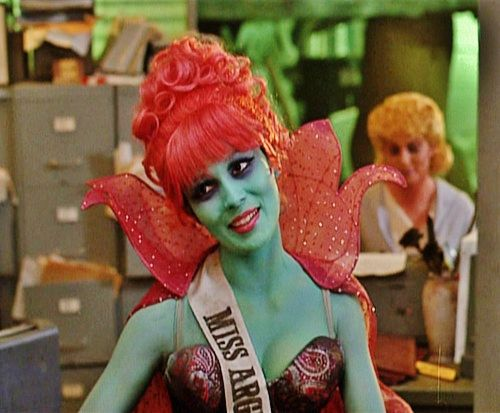 Miss Argentina from Beetlejuice | there's always next year ...