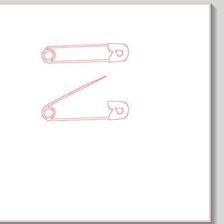 Fichier SST ** épingle ** pour silhouette caméo - scrapbooking carterie silhouette cameo tuto astuce scrap image tube numérique creation