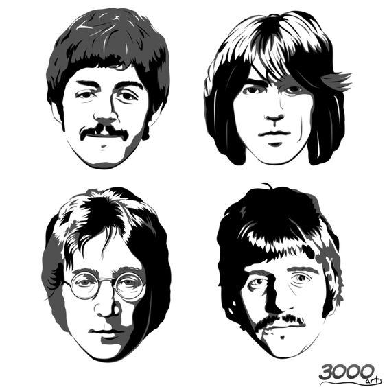 Pin By Charles Thomas On The Beatles Beatles Art Beatles Drawing The Beatles