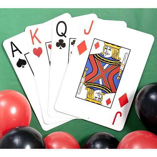 Giant Playing Cards Casino Theme Parties Casino Theme Casino Party