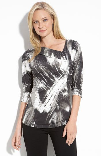 I seem to be in a black and white world.  I like this style though.  It can be found at Nordstrom.  Wish we had Nordie's here in Memphis though!