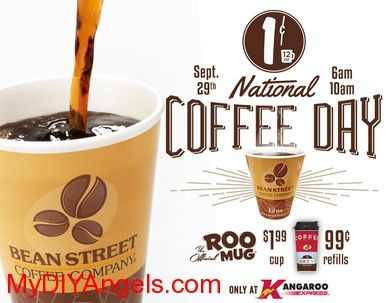 1¢ Coffee at Kangaroo Express Convenience Stores! | MY DIY ANGELS, DIY and Extreme Couponers