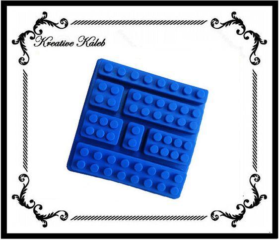 1 Lego Ziegelsteine Blöcke Silikon Schimmel Fach von KreativeKaleb