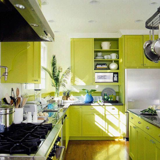 Amazing Green Kitchen Cabinets Houzz One And Only Smarthomefi Com Green Kitchen Cabinets Lime Green Kitchen Green Kitchen