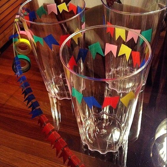 Ideias para decoração de #festajunina feita em casa #regram…: