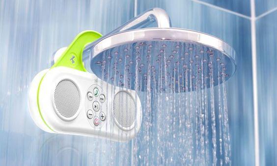 El altavoz Gator Sound de Pyle Audio te permite escuchar música en la ducha | iPodTotal