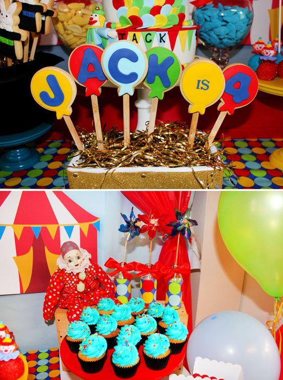 Jack is 4″ Balloon Shaped Cookies