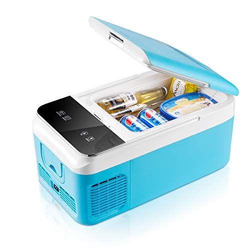 Ausranvik Car Fridge Portable Freezer 16 Quart 12v Fridge Must Have Car Accessories Car Essentials Car