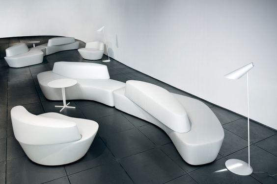 Sofá modular / de diseño orgánico / moderna - POLAR by Pearson Lloyd
