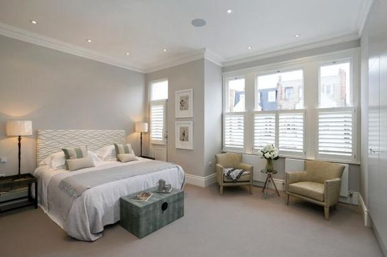 Paint colours:- Dulux Pebble Shore, or FB Joa's White and Wimbourne White