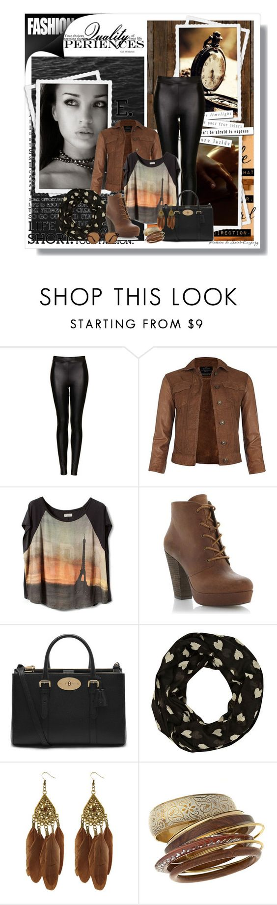 """""""This Is Confusion, Am I Confusing You?"""" by miriell ❤ liked on Polyvore featuring NLXL, Topshop, AllSaints, Steve Madden, Mulberry, River Island, Miso, Miss Selfridge and Ray-Ban"""