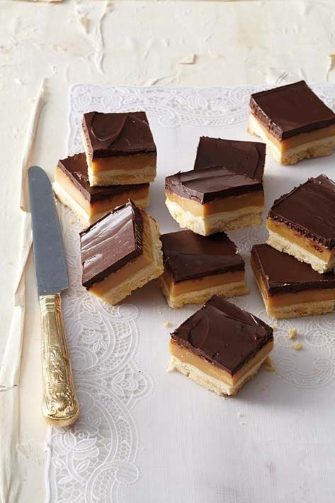 Gluten-free millionaire's shortbread is just as indulgently rich and delicious