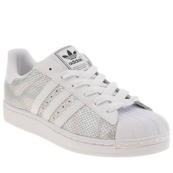 Adidas Superstar Gray Womens