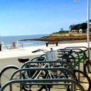 It Has Been The Perfect Weekend For A Bike Ride Along The Beach