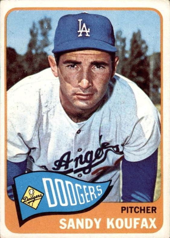 Dodgers Blue Heaven: A Visual Checklist of Sandy Koufax Baseball Cards - 1964 to 1967 (and undated issues)