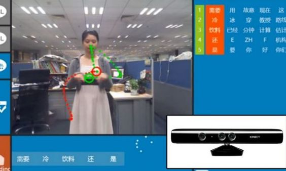 Kinect Sign Language Translator prototype has been created the Chinese Academy of Sciences in Beijing, Microsoft Research Asia and the Beijing Union University.